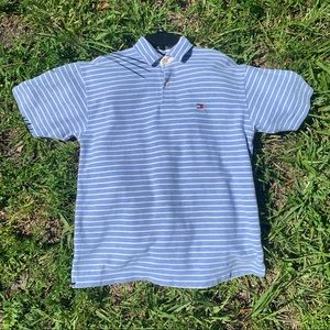 Vintage Striped Tommy Hilfiger Polo🔥